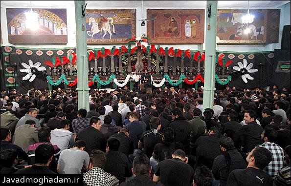 گزارش تصویری مراسم فاطمیه 1391 هیئت بین الحرمین
